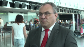 Rośnie zainteresowanie lotami z portu lotniczego we Wrocławiu. Lotnisko obsłużyło w I półroczu 1,6 mln pasażerów
