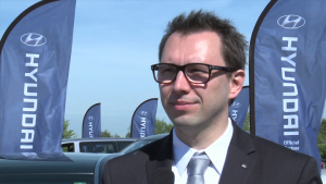 Limuzyna Hyundai Equus dla Michela Platiniego