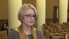 Agnieszka Kozłowska-Rajewicz: Jest niewielka szansa, że ustawa o związkach partnerskich będzie zaakceptowania już w tej kadencji