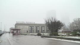 Smog na ulicach Warszawy - luty 2020 r.
