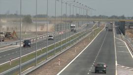 Odcinek D autostrady A2 - zdjęcia do montażu