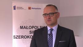 Szerokopasmowy internet do listopada pokryje całą Małopolskę. Gotowe jest prawie 800 km światłowodów