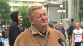 W Krakowie biegacze promowali ideę dawstwa szpiku