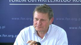 Prof. L. Balcerowicz: grozi nam wyraźne spowolnienie z przyczyn wewnętrznych