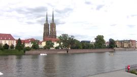 Wrocław nad Odrą - sierpień [przebitki]