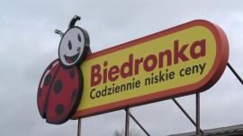 Zdjęcia warszawskiego sklepu sieci Biedronka