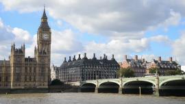 Londyn - Big Ben, Tamiza [przebitki]