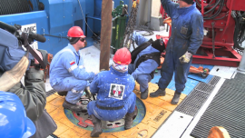 PGNiG intensyfikuje poszukiwania gazu z łupków: zdjęcia z odwiertu w Lubyczy Królewskiej