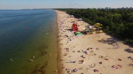 Gdańsk - plaża [przebitki]