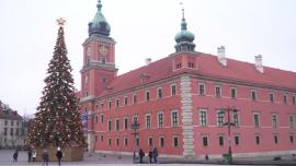 Dekoracje świąteczne na Krakowskim Przedmieściu w Warszawie - grudzień 2020 r. [przebitki]