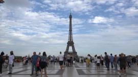 Paryż - ujęcia ogólne [przebitki]