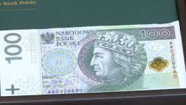 Nowe banknoty NBP [zdjęcia wideo do montażu]