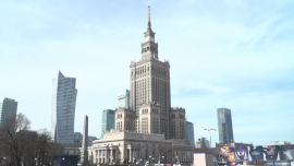 Warszawa - epidemia koronawirusa, centrum miasta [przebitki]