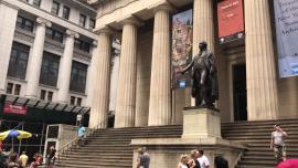 Wall Street, Nowy Jork - lato [przebitki]