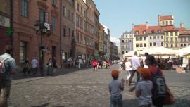 Warszawa Stare Miasto - lato [przebitki]