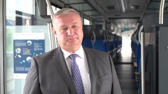 Pierwszy na świecie pasażerski pociąg wodorowy może być produkowany w Polsce. Od przyszłego roku zacznie regularnie kursować w Niemczech