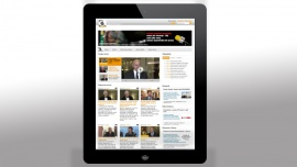 Serwis Newserii można oglądać na urządzeniach z systemem iOS