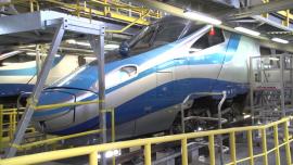 Pendolino, montaż Wi-Fi w pociągach - lipiec [przebitki]