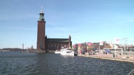 Sztokholm - kwiecień [przebitki]