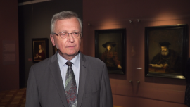 Zamek Królewski w Warszawie przyciąga wystawami Rembrandta, Caravaggia i Canaletta. Trwają obchody 50-lecia jego odbudowy