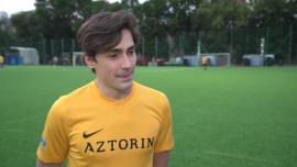 Matteo Brunetti: Niedawno urodził mi się syn i chciałbym strzelić dla niego gola w Wielkim Meczu TVN vs. WOŚP