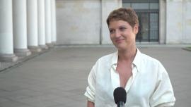 Aleksandra Domańska: Dla mnie przerwa od pracy to nawet za krótka była. Mogłabym jeszcze dłużej sobie siedzieć w domu albo w lesie