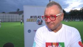 Jerzy Owsiak: Ja jestem kontuzjogenny koleś. Jak tylko wejdę na boisko to zaraz się przewrócę, ktoś mi coś dołoży albo gdzieś mi się mięsień nadwyręży