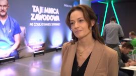 """Magdalena Różczka: Oglądam """"Tajemnicę zawodową"""" i muszę przyznać, że ten serial bardzo wciąga. Jestem zachwycona grą aktorską moich koleżanek i kolegów"""