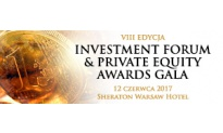 """VIII edycja """"Investment Forum & Private Equity Awards Gala"""""""