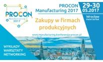 PROCON Manufacturing 2017 Kalendarium