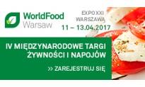 IV Międzynarodowe Targi Żywności i Napojów WorldFood Warsaw