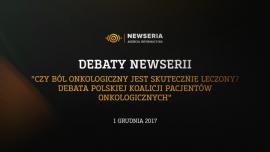 Debata: Ból nowotworowy – czy jest skutecznie leczony w Polsce? Debaty