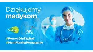 Provident i AXA wspierają finansowo lokalne szpitale