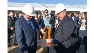 Reper startowy i pierwsza łopata na placu budowy Elektrowni Ostrołęka C Biuro prasowe