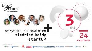Już jutro konferencja dla każdego, kto chce mieć własny startup #biotech. Biuro prasowe