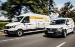 Dostawcze Volkswageny dostępne na minuty