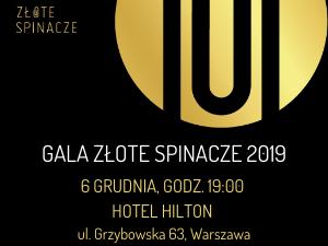 Gala Złote Spinacze 2019