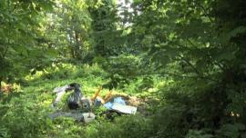 [zdjęcia] dzikie wysypisko śmieci