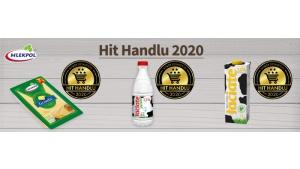 Hit Handlu 2020 rozstrzygnięty – trzy tytuły dla Mlekpolu Biuro prasowe