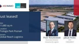 AXI IMMO i 108 AGENCY wprowadzają Global Reach Logistics do Polski