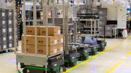 Autonomiczne roboty mobilne MiR odmieniają logistykę w fabryce TE Connectivity