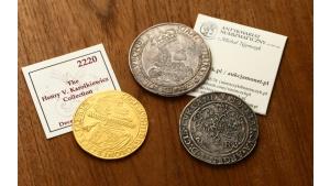 Aukcja najdroższych numizmatów w Warszawie