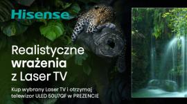 Promocja dla fanów kina domowego - Hisense Laser TV z gratisowym telewizorem!