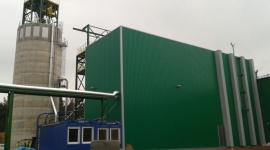 Fabrykę LVL zasila w energię cieplną nowa kotłownia na biomasę
