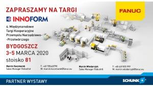 FANUC i SCHUNK zapraszają na targi INNOFORM® 2020