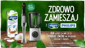 Zdrowo zamieszaj z Alpro i Philips – nowa realizacja NAV agency i Mint Media Biuro prasowe