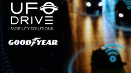 Goodyear współpracuje z pionierem mobilności, firmą UFODRIVE