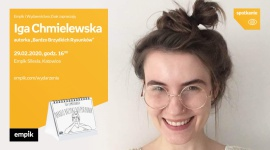 Iga Chimelewska (Bardzo Brzydkie Rysunki) w Empiku Silesia Biuro prasowe