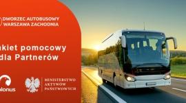 """Polonus wprowadza """"Plan pomocowy dla Partnerów Dworca Zachodniego"""