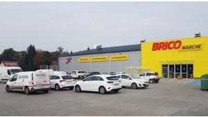 Muszkieterowie otwierają kolejny sklep sieci Bricomarché